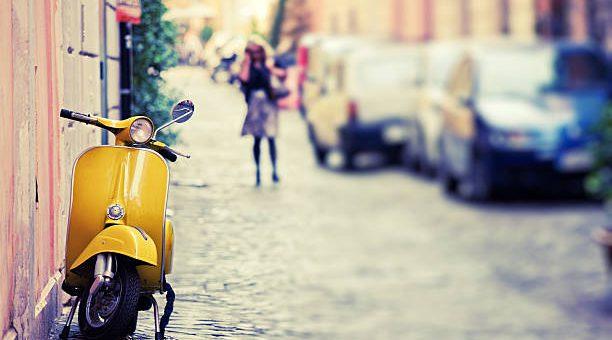 Een scooter kopen voor in de stad